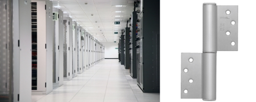 Data Center Hinged Doors : Auto hinge supplied for data center kenwa trading
