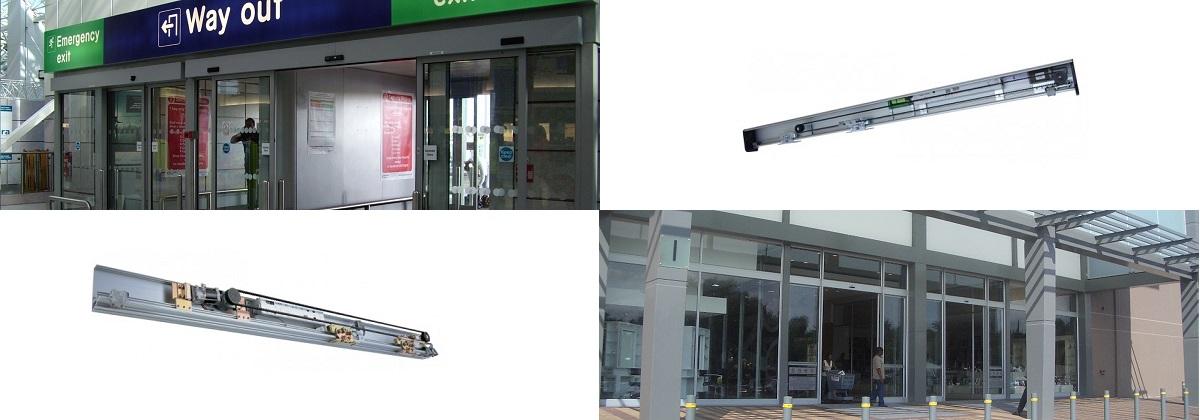 MICOM auto door airport