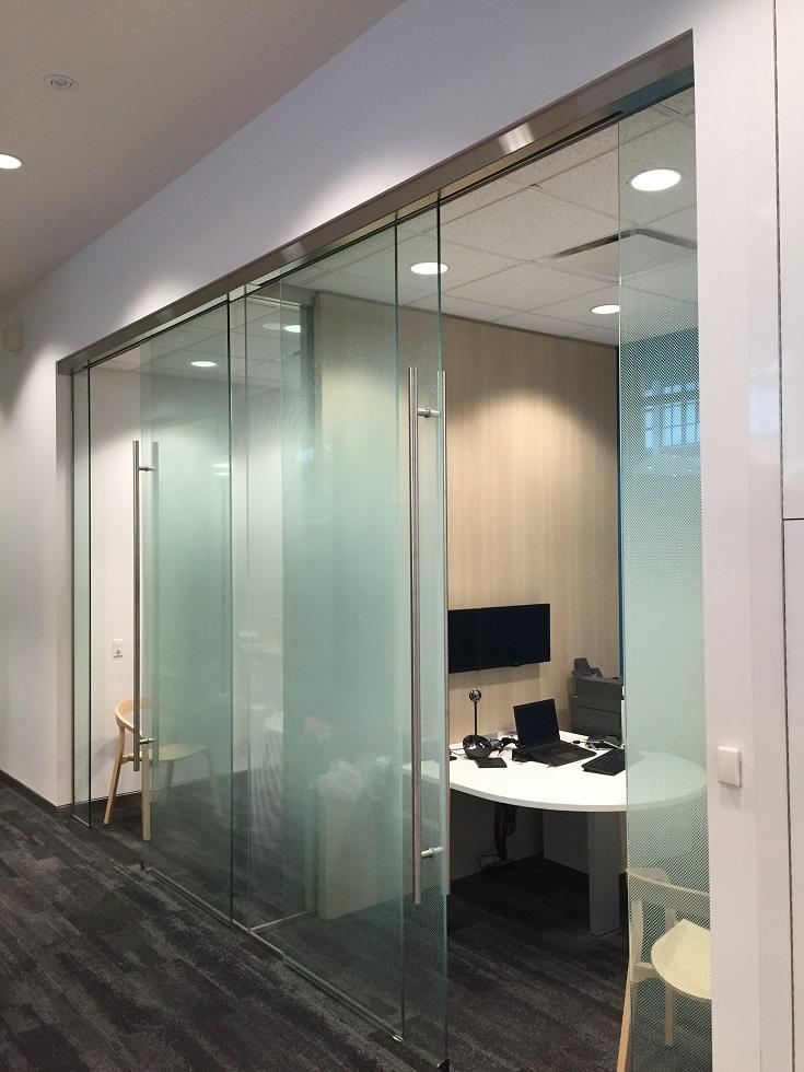 Contemporaryluxury 72 Door Handle Supplied To Canadian Bank