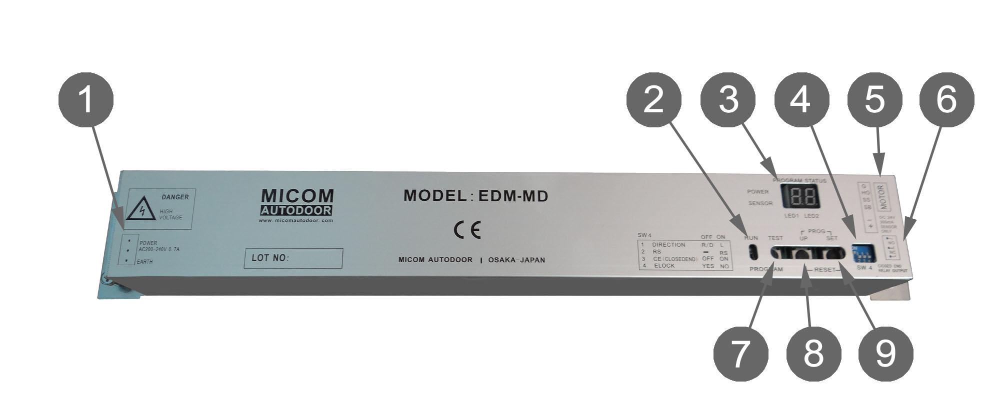 Automatic Sliding Door Operators Edm Md Series Kenwa